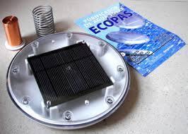 Purificador de piscinas por energía solar Ecopas