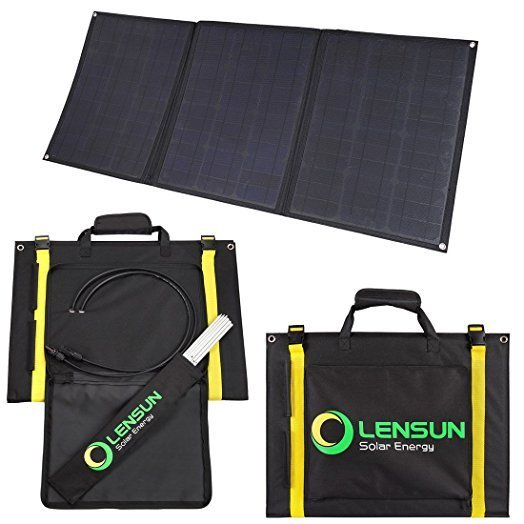 Panel solar flexible portátil de 100W 12V con regulador