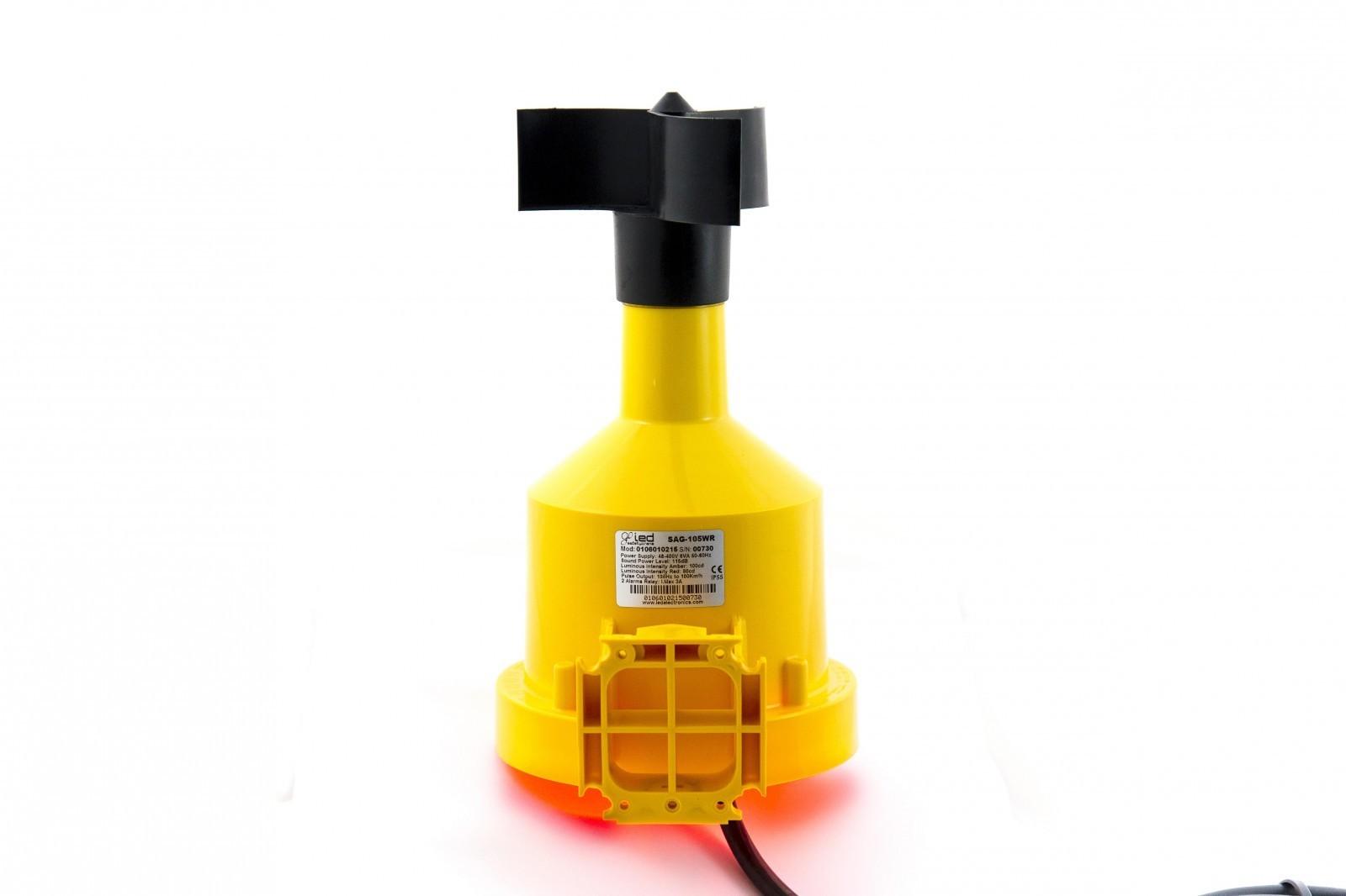 Anemómetro con alarma para juegos hinchables