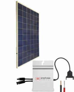 On-grid kits with microinverter from 275 to 1,100Wp