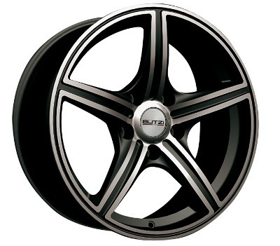 "Wheel Butzi Sport"" Vendetta"" 7x 16""  4 100 38 67,1 Black /"
