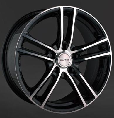 "Wheel Pulse 6,5x 15""  4 100 35 60,1 Black/Full Polish Noir"