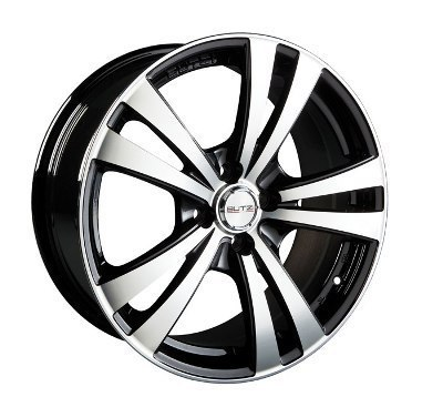 "Wheel SCUDERIA 8x 18""  5 100 38 67,1 Black/Full Polish Noir"