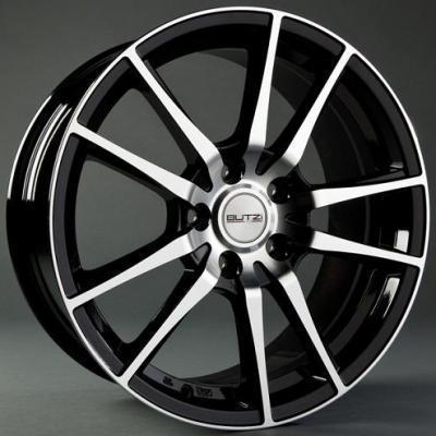 "Felge ORSO 7,5x 17""  5 112 38 73,1 Black/Full Polish"