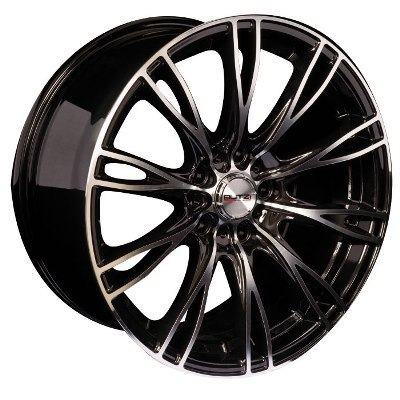 "Rim BUTZI ZR-66 BLACK MIRROR   7,5x 18""  5 100 35 67,1 BL"