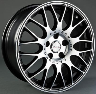 "Wheel Evo 6x 14""  4x108 ET25 65,1  Glossy Black/Full Polish"