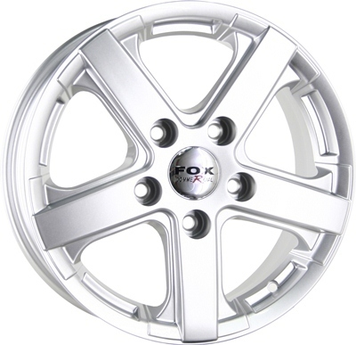 Wheel 6,5X15 FOX VIPER COMMERCIAL 5X130 ET50 950KG
