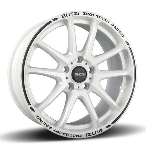 Cerchione Butzi ZR01 7.5x17 35 4x100 67,1 PEARL WHITE/BLACK