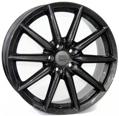 Wheel WSP CANNES 8.0x18.0 ET41 5X110 65,1 DIAMOND BLACK
