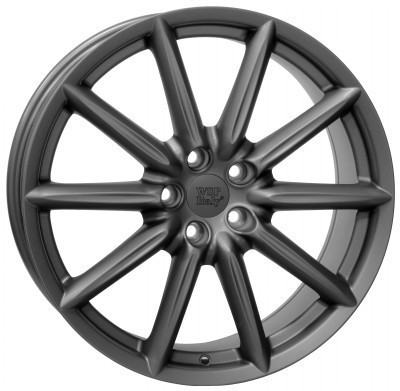 Wheel WSP CANNES 8.0x19.0 ET41 5X110 65,1 MATT GUN METAL