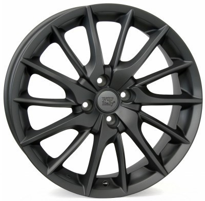 Wheel WSP FiRe MiTo 7.0x17.0 ET37 4X100 56,6 MATT GUN METAL