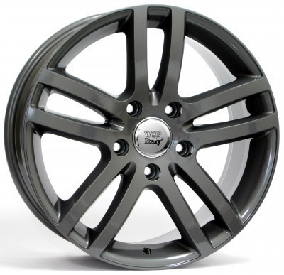 Wheel WSP Q7 WIEN 4.2 9.0x20.0 ET60 5X130 71,6 ANTHRACITE POLISHED