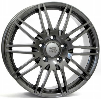Wheel WSP Q7 ALABAMA 8.5x19.0 ET62 5X130 71,6 ANTHRACITE POLISHED