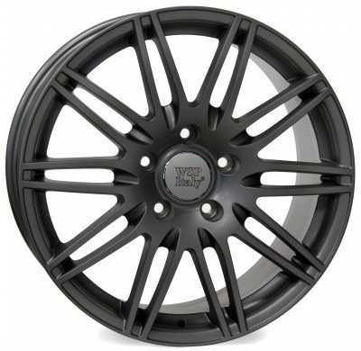 Cerchione WSP Q7 ALABAMA 8.5x19.0 ET62 5X130 71,6 MATT GUN METAL
