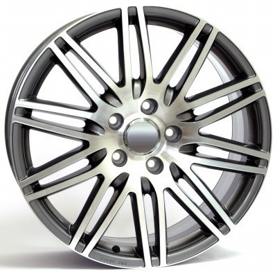 Wheel WSP Q7 ALABAMA 9.0x19.0 ET60 5X130 71,6 HYPER ANTHRACITE