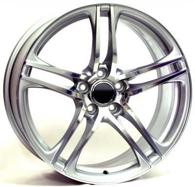 Wheel WSP PAUL 7.0x16.0 ET30 5X112 66,6 SILVER POLISHED