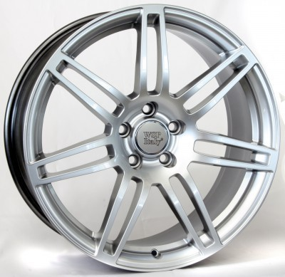 Wheel WSP S8 COSMA TWO 7.0x16.0 ET39 5X112 66,6 HYPER ANTHRACITE