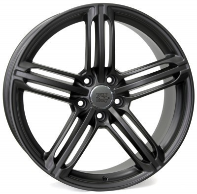 Wheel WSP POMPEI 8.0x17.0 ET39 5X112 66,6 MATT GUN METAL