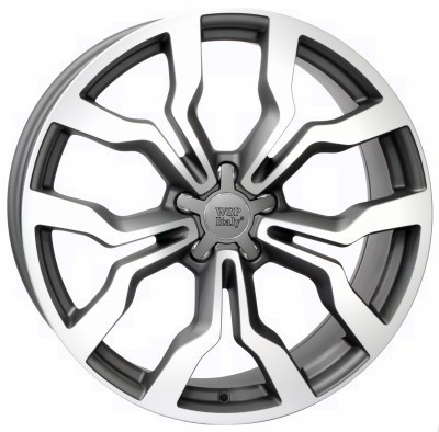 Wheel WSP MEDEA 7.5x18.0 ET54 5X112 57,1 DULL BLACK POLISHED