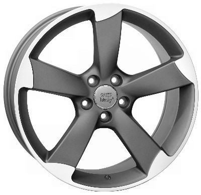 Wheel WSP GIASONE 8.0x17.0 ET39 5X112 66,6 MATT GM POLISHED