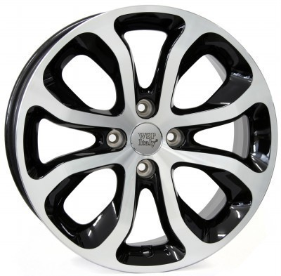 Wheel WSP NIMES 6.0x16.0 ET23 4X108 65,1 GLOSSY BLACK POLISHED