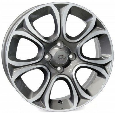 Jante WSP EVO 6.0x16.0 ET45 4X100 56,6 ANTHRACITE POLISHED