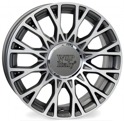 Felge WSP GRACE 6.0x15.0 ET35 4X098 58,1 ANTHRACITE POLISHED