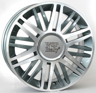 Felge WSP CILENTO 6.0x15.0 ET40 4X098 58,1 ANTHRACITE POLISHED