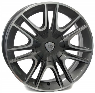 Felge WSP RIGA 6.0x15.0 ET40 4X098 58,1 ANTHRACITE POLISHED