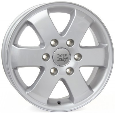 Wheel WSP SPRINT FIVE 6.0x15.0 ET60 5X130 84,1 SILVER