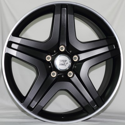 Wheel WSP MIYAGI 9.5x20.0 ET50 5X130 84,1 DULL BLACK POLISHED