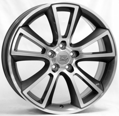 Wheel WSP MOON 8.0x18.0 ET43 5X110 65,1 ANTHRACITE POLISHED