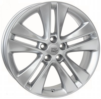 Jante WSP ASTRA 7.0x17.0 ET42 5x105 56,6 HYPER SILVER