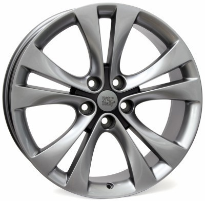 Wheel WSP MERCURY 8.0x18.0 ET46 5x115 70,2 HYPER ANTHRACITE