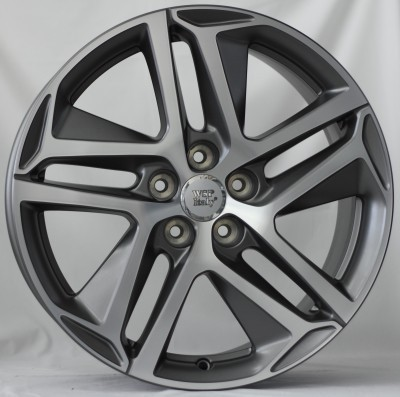 Felge WSP DUBAI 7.5x17.0 ET44 5X108 65,1 MATT GM POLISHED