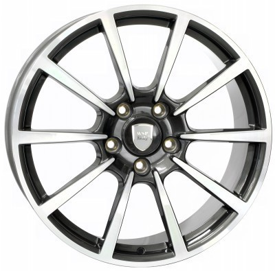 Llanta WSP LEGEND 11.0x20.0 ET52 5X130 71,6 ANTHRACITE POLISHED