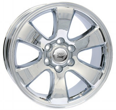Wheel WSP YOKOHAMA PRADO 7.5x17.0 ET30 6X139,7 106,1 CHROME