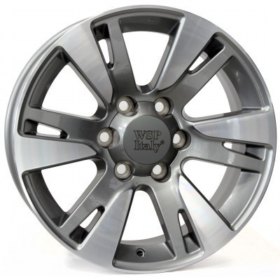 Rim WSP VENERE 10.0x22.0 ET20 6X139,7 106,1 ANTHRACITE POLISHED