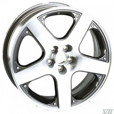 Felge WSP SORRENTO 6.5x15.0 ET35 5X100 57,1 ANTHRACITE POLISHED