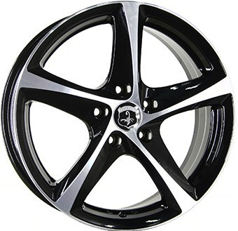 Wheel 6,5X16 IA TORNADO BLACKPO WP 919 5X114 ET 42