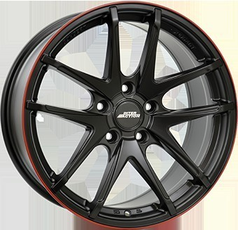 Jante 7,5X17 IA RED HOT 5/100   ET35 CH57,1