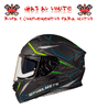CASCO MT KRE SV INTREPID VERDE FLUOR MATE
