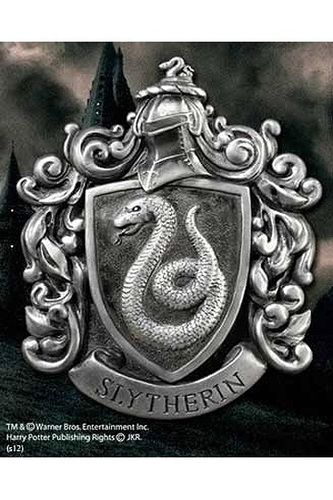 Escudo Slytherin House Crest