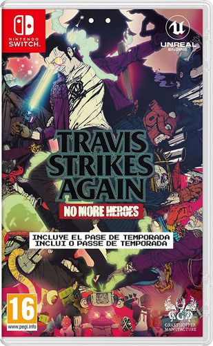 Travis Strikes Again - No More Heroes SWITCH