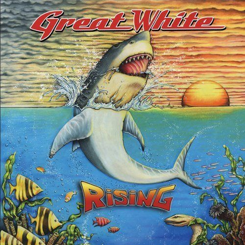 GREAT WHITE - RISING CD