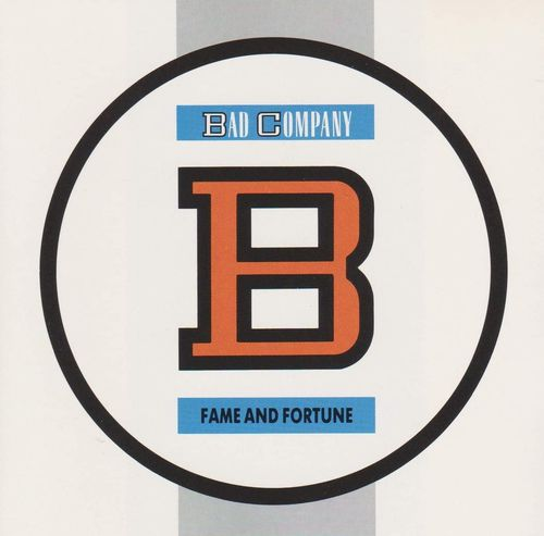 BAD COMPANY - FAME AND FORTUNE CD