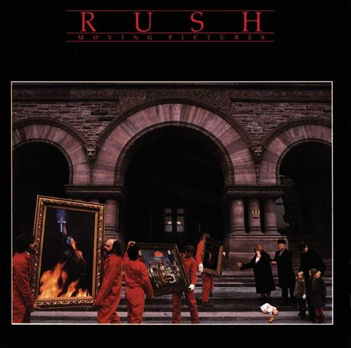 RUSH - MOVING PICTURES CD
