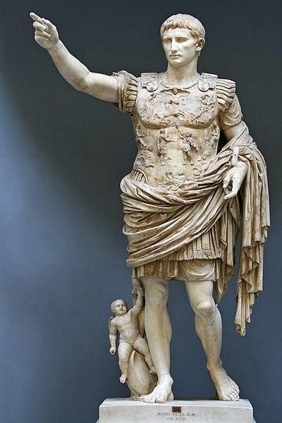 escultura de Cesar Augusto Prima Porta