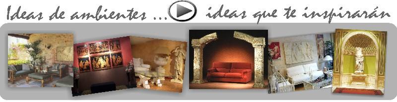 Muebles y decoración de interior y exterior