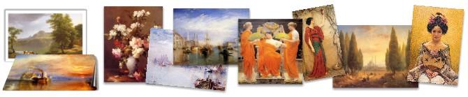 antiken Gemälde